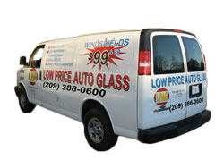Low Price Auto Glass Service Van
